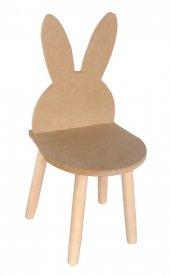 Ahşap Çocuk Sandalyesi Kulaklı