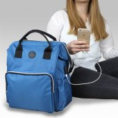 My Valice Smart Bag Usbli Anne Bebek Bakım ve Sırt Çantası