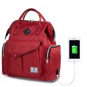 My Valice Smart Bag Happy Mom Fonksiyonel USB'li Anne & Bebek Bak