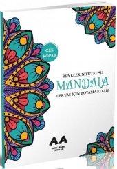 Mandala Renklerin Tutkusu Her Yaş İçin Boyama Kitabı Akıllı Adam Yayınları