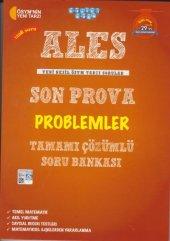 ALES Son Prova Problemler Tamamı Çözümlü Soru Bankası Akıllı Adam Yayınları