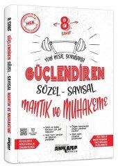 8. Sınıf Güçlendiren Sözel Sayısal Mantık Soru Bankası Ankara Yayıncılık