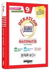9. Sınıf Dekatlon Matematik Konu Özetli Soru Bankası Ankara Yayıncılık