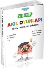 2. Sınıf Akıl Oyunları Bilsem - Kanguru - Olimpiyat Akıllı Adam Yayınları