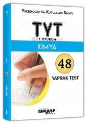 TYT Kimya 48 Yaprak Test Ankara Yayıncılık