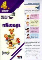 4.Sınıf Türkçe Çek Kopart Yaprak Test Açı Yayınları