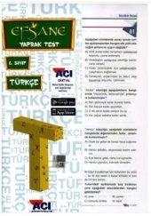 6.Sınıf Türkçe Çek Kopart Yaprak Test Açı Yayınları
