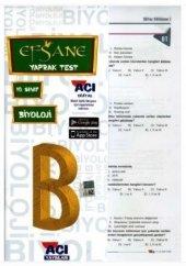 10.Sınıf Biyoloji Çek Kopart Yaprak Test Açı Yayınları