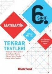 6.Sınıf Matematik Tekrar Testleri Blok Test Yayınları