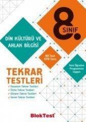 8.Sınıf Din Kültürü ve Ahlak Bilgisi Tekrar Testleri BlokTest Yayınları