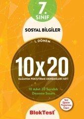 7. Sınıf Sosyal Bilgiler 10X20 Kazanım Pekiştirme Denemeleri Seti Bloktest Yayınları