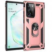 GpackSamsung Galaxy Note 20 Ultra Kılıf Vega Standlı Yüzüklü Mıknatıslı+Full Ekran