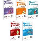 Koray Varol Yayınları 7. Sınıf Kılavuz Serisi İngilizce Soru Bankası Seti (5 Kitap)