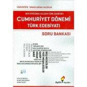 Aydın Yayınları AYT Cumhuriyet Dönemi Türk Edebiyatı Soru Bankası
