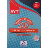 Paraf Yayınları AYT Türk Dili ve Edebiyatı Tamamı Çözümlü 20 Deneme