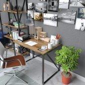 60x90  ebatlarında ahşap çalışma masası