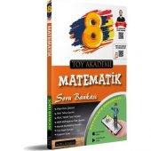 Toy Akademi Yayınları 8. Sınıf Matematik Soru Bankası