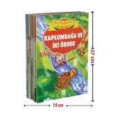 La Fontaine Masalları (10 Kitap - Büyük Boy) - Jean De La Fontaine - Ema Çocuk Yayınları