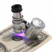 Mini Mikroskop 60x ( Kuyumcu,Antikacılar vb İçin )