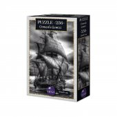 256 Parça Puzzle Seti Eğitici Puzzle Seti Osmanlı Gemisi