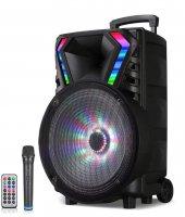 Altunga LT-1517BT Siyah Usb + FM Destekli Bluetooth Kablosuz Mikrofonlu Toplantı Anfisi