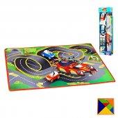 Lisanslı Yarışçı Mickey Mouse Oyun Matı - Yarışçı Mickey Donald