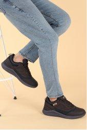 Jump 25548 Günlük Bağcıklı Erkek Spor Ayakkabı Kahverengi