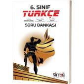 Simya Dergisi Yayaınları 6. Sınıf Türkçe Soru Bankası