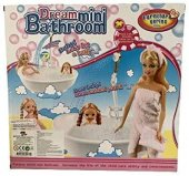 Kut. Aksesuarlı Bebek JJ6604 Dream Mini Bathroom