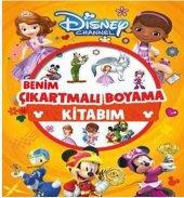 Disney Channel Benim Çıkartmalı Boyama Kitabım