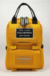 Polo Sports Kanvas Unisex Sırt Çantas