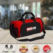 Hardline Spor Çantası Kırmızı-Siyah