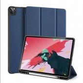 Yukka iPad Pro 12.9 2018 Mavi Mıknatıslı Kapak Kılıf
