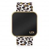 UPWATCH Touch Matte Gold&Leopard Unisex Kol Saati
