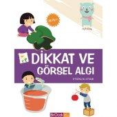 Dikkat Ve Görsel Algı Etkinlik Kitabı (36 Ay) - Elif Alkan - Bir Ocak Yayınları