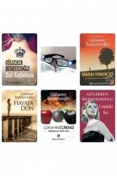 Gülseren Budayıcıoğlu 5 Li Set Günahın Üç Rengi-hayatadön-madalyonun Içi-kral Kaybederse-camdaki Kız