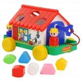 Polesie Oyuncak Ev - Eğitici Oyun Evi