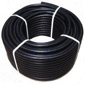11 mm Plastik Spiral Boru Siyah 100 mt