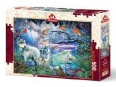 Heidi Puzzle 500 Parça Buzul Ormanı 5073 (1 adet)