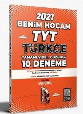 Benim Hocam 2021 Tyt Türkçe Tamamı Video Çözümlü 40 Deneme Sınavı