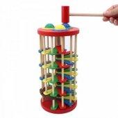 ÇakÇak Oyuncak - Merdiven Dönen Ahşap Oyuncak - Eğitici Ahşap Oyuncak