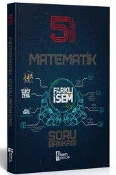 İsem 2021 5. Sınıf Farklı İsem Matematik Soru Bankası İsem Yayıncılık