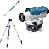 Bosch GOL 32D+BT160+GR500 Optik Nivelmon Hizalama