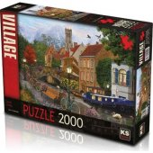 Ks Games 2000 Parça Canal Living Puzzle (22509)