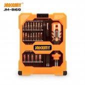 Jakemy JM-8160 Taşınabilir 33 Parça Çok Fonksiyonlu Hassas Tornavida Seti