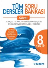 TUDEM Yayınları 8.Sınıf Tüm Dersler Soru Bankası