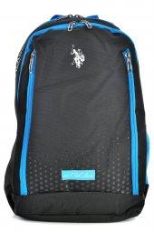 U.S. Polo Assn. 8268 Okul Sırt Çantası Siyah-Mavi