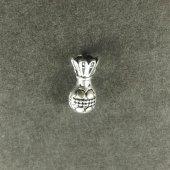 Tesbih Malzemesi Püskül Dip Gümüş Kaplama Model:004
