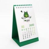Yoga Kurbağa İngilizce Masa Takvimi