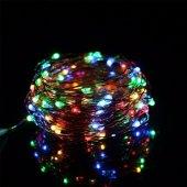 Pazariz RGB Peri Led Işık (3M) - Karışık Renk - Dekoratif - Aydınlatma